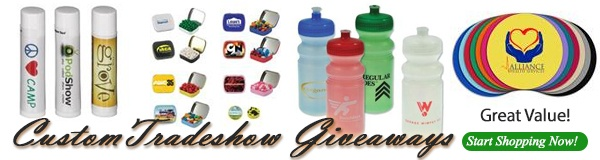 Tradeshow Giveaways, Marketing Items & Trade Show Giveaway