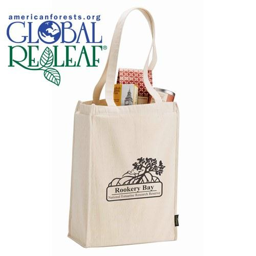 Essential Organic 6 oz. Cotton Grocery Tote