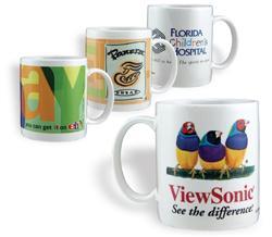 11 ounce Custom Full Color Ceramic Mugs