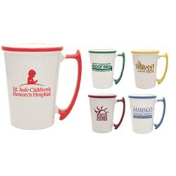 11 oz. Custom Two-Tone Coffee Mug-6 Colors