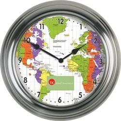 """13 1/2"""" Custom Metal Wall Clock"""