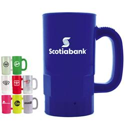 14 oz Custom Plastic Beer Steins