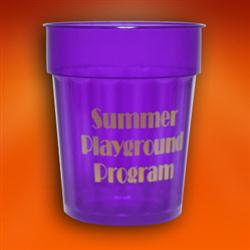24 oz. Fluted Stadium Cups in Translucent Jewel Colors