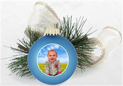 "3 1/4"" Glass Ball Ornament"