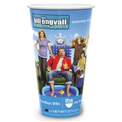 32 oz Full Color Custom Plastic Cups