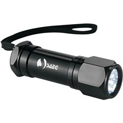 8 LED Aluminum Superbright Flashlight with custom logo