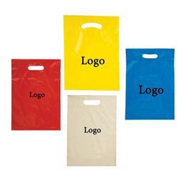 "9"" x 13"" Small Die Cut Plastic Bags"