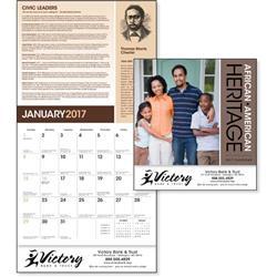 African American Everyday Heroes Wall Calendar