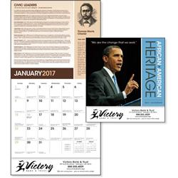 Barak Obama African American Heritage Calendars
