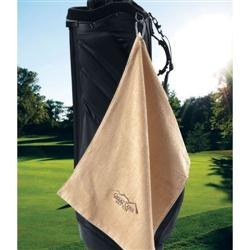 Bamboo Custom Golf Towels Embroidered