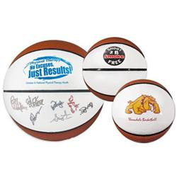 Signature Mini and Spalding Basketballs