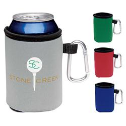 Custom Koozies with Carabiner Clip