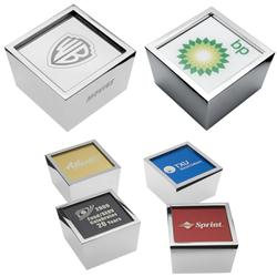 Cubo Metal Paperweight