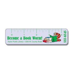 Laminated Bookmark  1.25x5 Rectangle