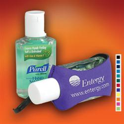 Custom Purell Brand Hand Sanitizers with Clip