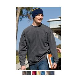 District Threads Pigment-Dyed Crewneck Custom Sweatshirts