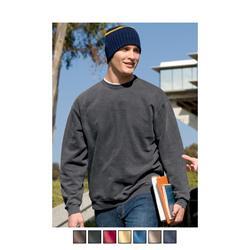 District Threads Pigment-Dyed Crewneck Custom Sweatshirts
