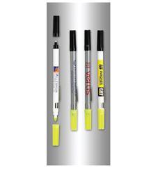 Double Header Nylon Point Pen & Highlighters
