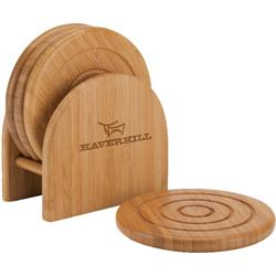 Epure Bamboo Custom Coaster Set