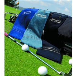 Feather Line Embroidered Golf Towels - 16 x 24