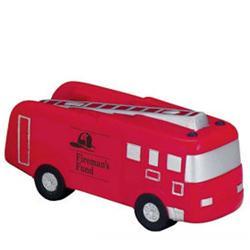 Custom Fire Truck Stress Ball & Promotional Fire Truck Stress Reliever