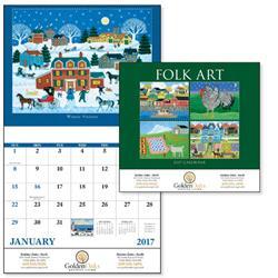 Folk Art Value Custom Calendars