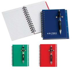 Geek Custom Mini Memo Book w/Ruler & Pen