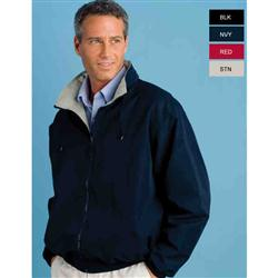 Hampton Microfiber Embroidered Jackets