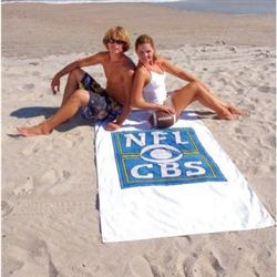 "Heavyweight Custom Beach Towels 40"" x 70"" 24 lbs/doz"