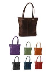 Lamis Soft Litchi Custom Totes, Promotional Lamis Tote Bags