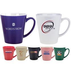 Mini Latte Mugs 13 oz in Glossy Finish