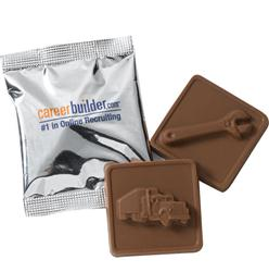 Molded Chocolate Squares