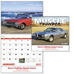Muscle Thunder Cars Custom Appointment Calendars