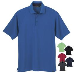 North End Sport Recycled Waffle Polos