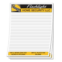 Note Pad - 50 Sheets - 8.5x11