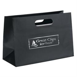 Olivia Boutique Laminate Shopper Bags in Paper by Adco Marketing
