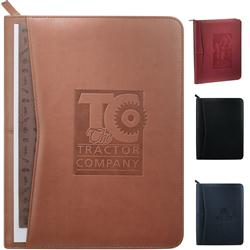 Pedova Custom Padfolio Zippered, Promotional Padfolios Pedova