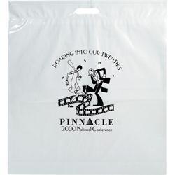 Die Cut Custom Plastic Bags 20x22x4