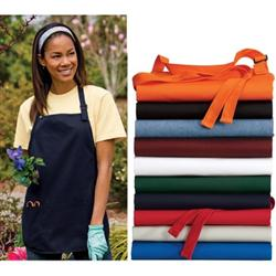 Port Authority Medium Length Aprons with Pouch Pockets