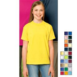 Port and Company Youth Cotton Screened T-shirts