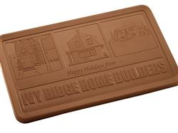 Promotional Executive Gift 2 lb Chocolate Bar