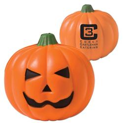 Custom Halloween Pumpkin Stress Reliever and Promotional Pumpkin Stress Balls