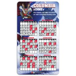 Custom Magnet Calendar  with Rounded Corners