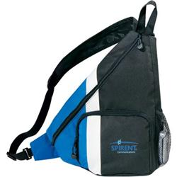 Side Dip Promotional Sling Backpacks