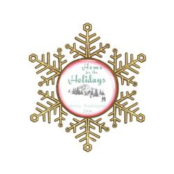 Snowflake Holiday Ornament Free Rush