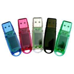 Translucent USB Flash Memory Sticks