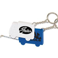 Truck Tape Measure Key Tags