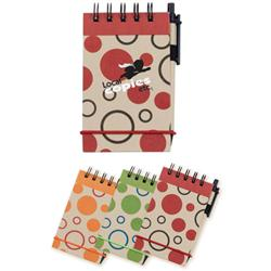 V Natural™ Kraft Geo Jotter with Pen