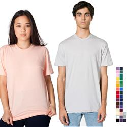 Poly-Cotton Short Sleeve Crew Neck Shirt