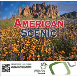American Scenic Wall Calendars, Promotional Wall Calendar of America